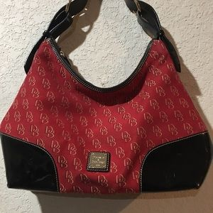 Dooney and Burke  red purse